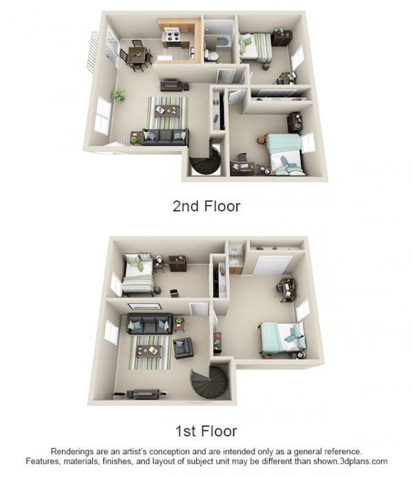 Unfurnished Apartments For Rent